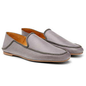 Men's Leather Loafers - Calibre Plaited Slip On Loafers