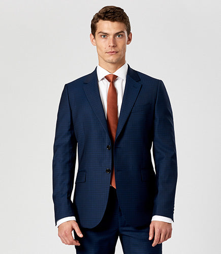 Calibre Men's Slim Gingham Suit