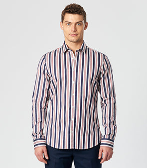 Calibre Men's Bold Stripe Shirt