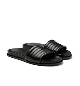 Calibre Leather Pool Slide