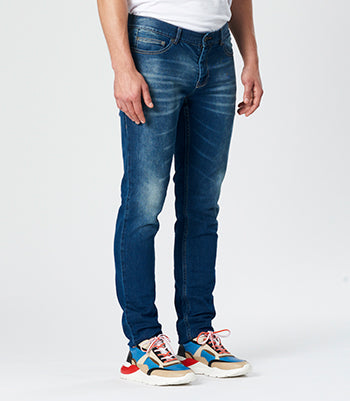 Calibre Men's Slim Leg Denim Jeans