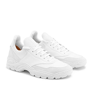 Calibre Chunky Neo Leather White Sneakers