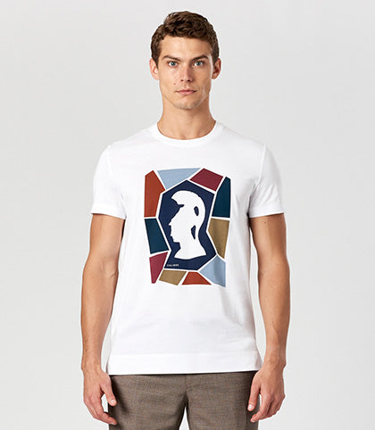 Calibre Collage Print Tee