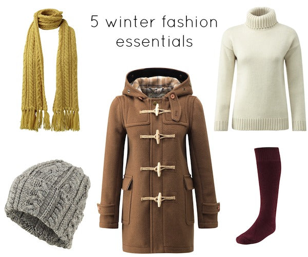 5 winter fashion essentials