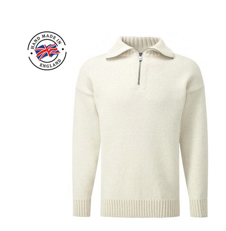 Mens zip neck woollen sweater uk