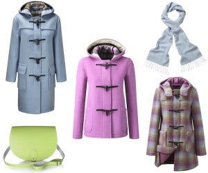 Pastel Winter Duffle Coats