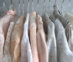 Pastel jumpers for winter