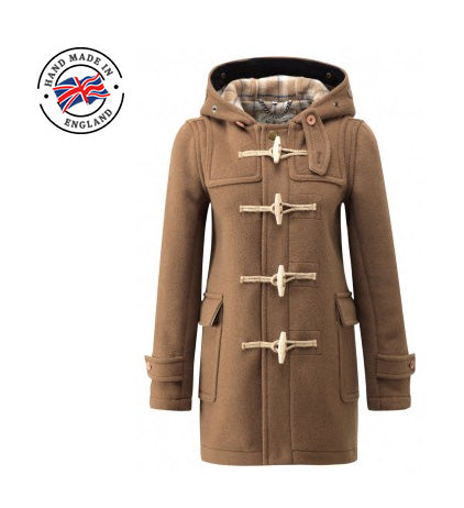 ladies camel coloured duffle coat uk