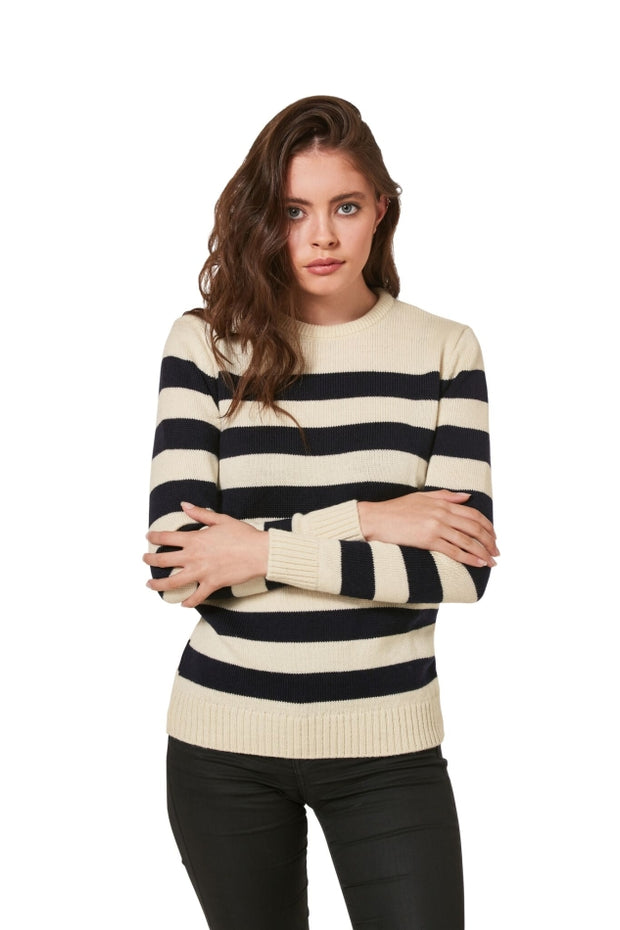 Women's Merino Breton Sweater