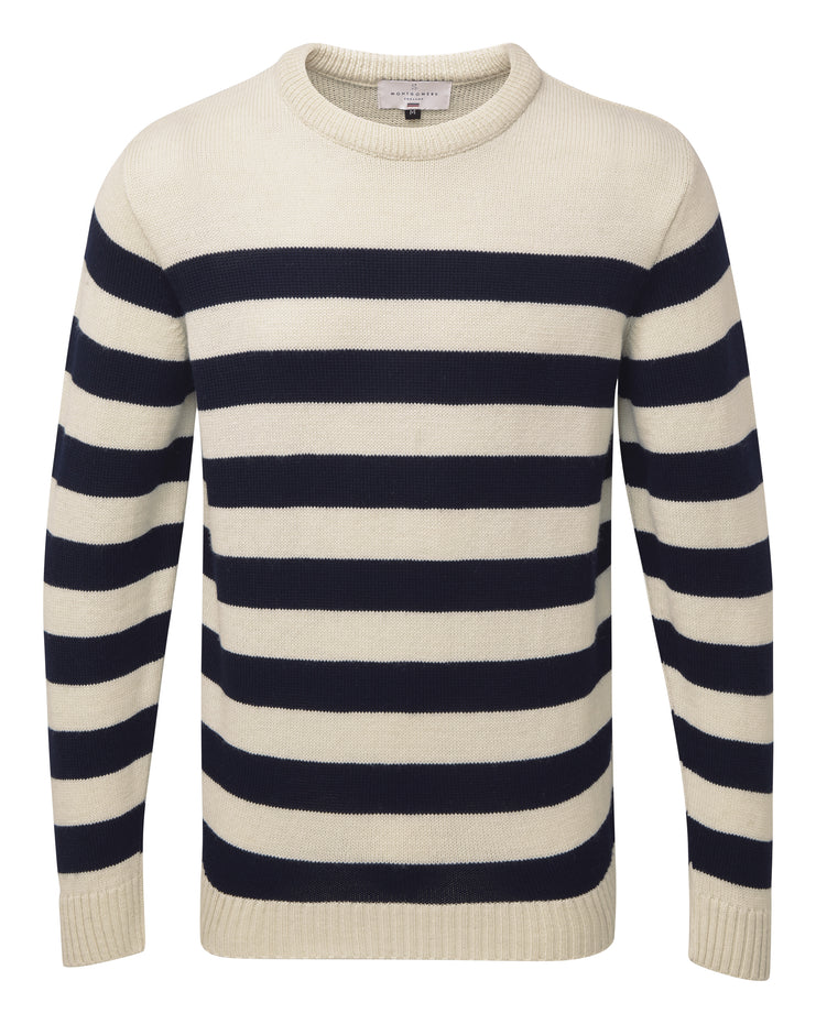 BRETON MERINO SWEATER FOR MEN
