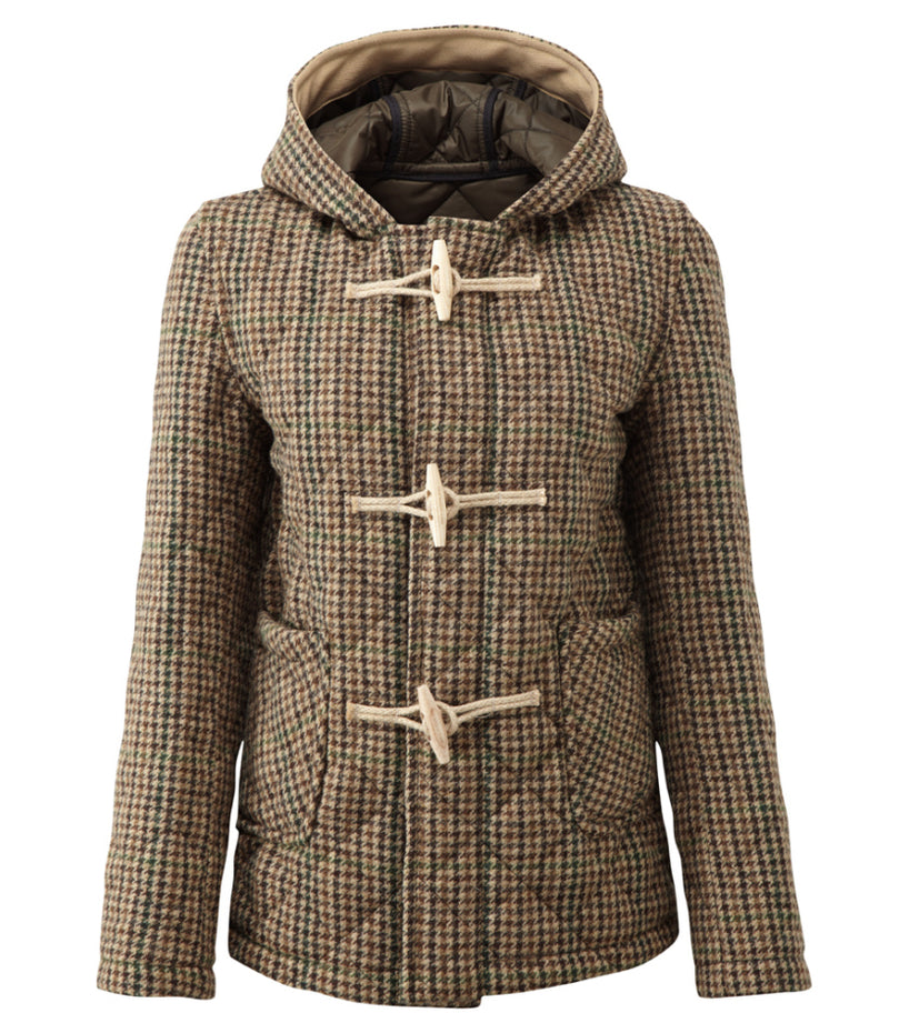 Women's Richmond Quilted Tweed Duffle