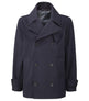 Mens Pea Coat Navy