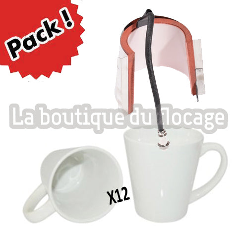 Mug conique sublimation Pack de démarrage