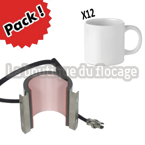 Mini Mug Sublimable Pack démarrage