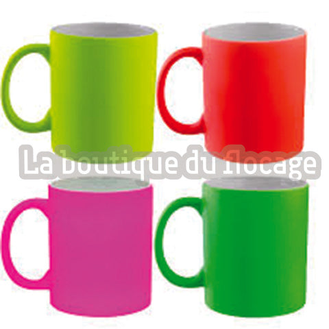 Mugs Couleurs Fluo