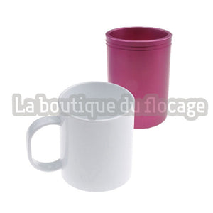 Mug en plastic incassable pour sublimation