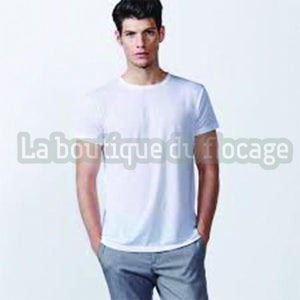 T-Shirt Blanc pour impression sublimation