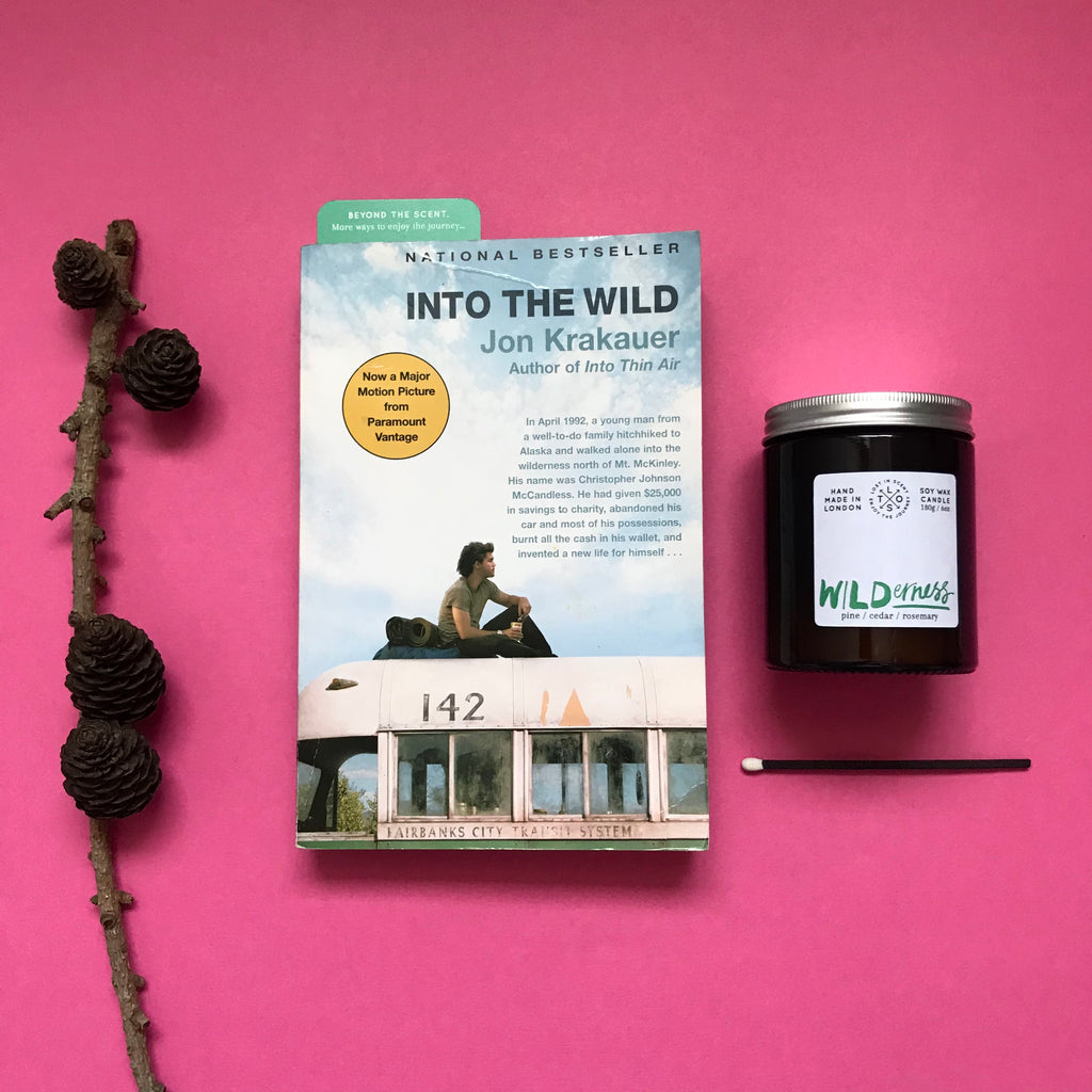Into the Wild + Wilderness candle