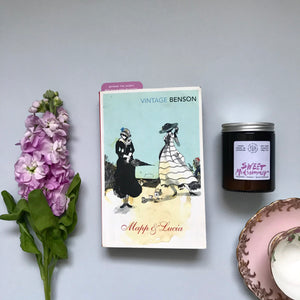 Mapp and Lucia + Sweet Midsummer candle