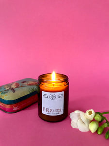 Mapp and Lucia + Birdsong candle