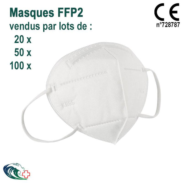 Masques de protection type KN 95 / FFP2 - Usage Unique-Oceatonic