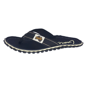 Gumbies CANVAS Flip Flops - Womens - Black
