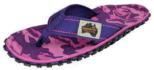 Gumbies CANVAS Flip Flops - Womens - Cami