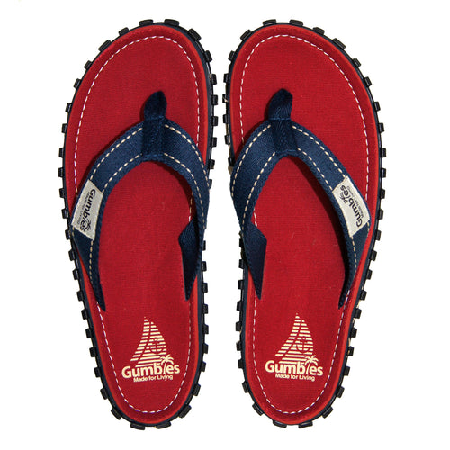 Gumbies CANVAS Flip Flops - Coast