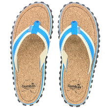 Gumbies CORKER Flip Flops - Mens - Blue