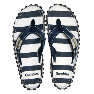 Gumbies CANVAS Flip Flops - Womens - Deckchair