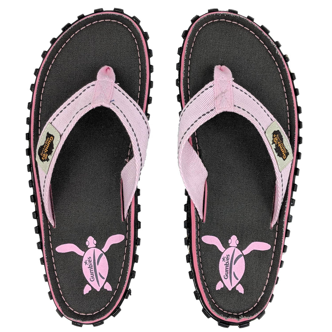 Gumbies CANVAS Flip Flops - Womens - Turtle