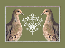 """Hope"" Doves Card"