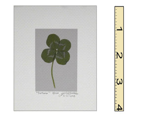 """Fortuna"" Clover Mini Print"