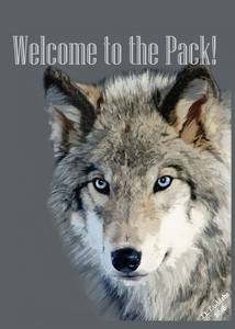 """Welcome to the Pack"" Card"