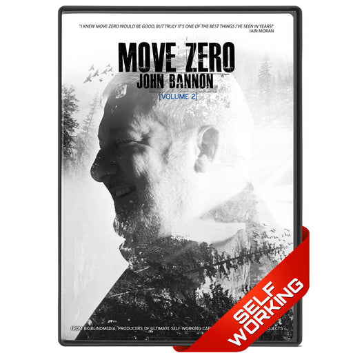 Move Zero Vol 2 by John Bannon - bigblindmedia.com DVD Case