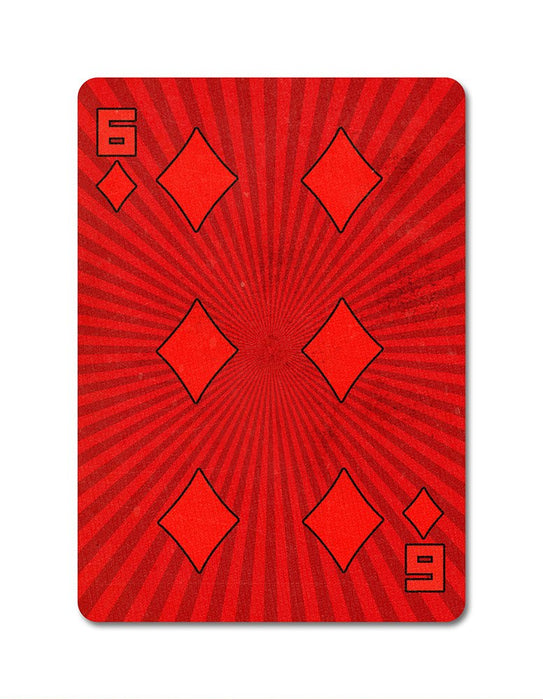 Karnival 1984 Playing Cards - bigblindmedia.com 6 of Diamonds