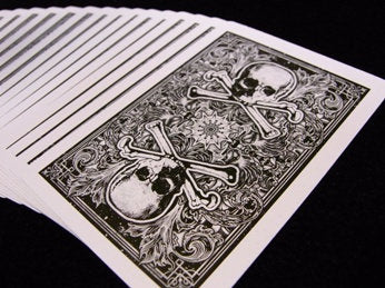 Karnival Death Heads Plastic Cards