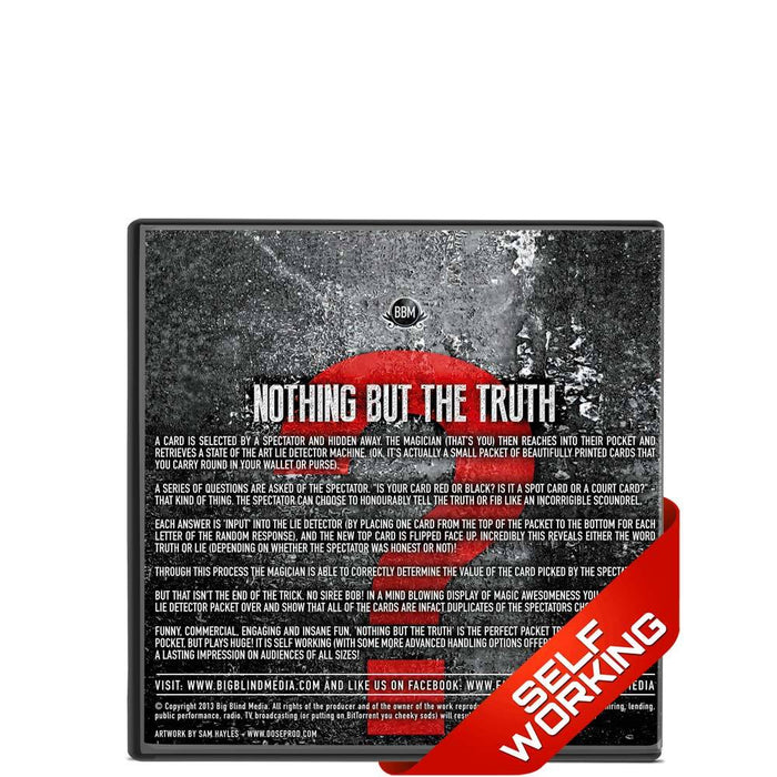 Nothing But The Truth - Cameron Francis