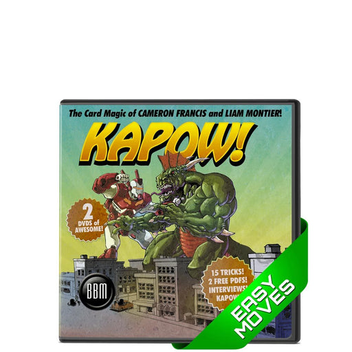 KAPOW - Liam Montier and Cameron Francis (2 DVD Set)