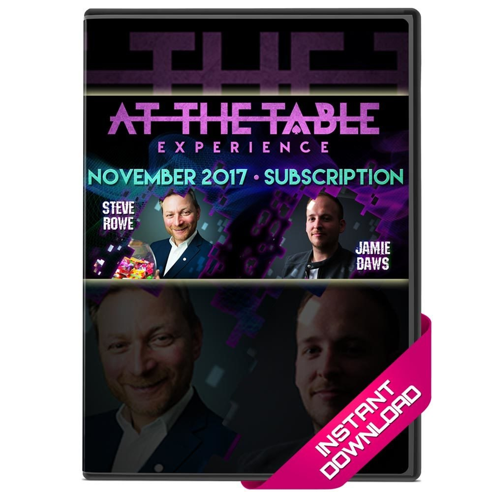 At The Table Live Lectures - November 2017