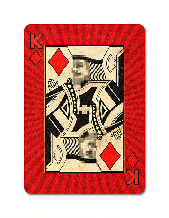 Karnival 1984 Playing Cards - bigblindmedia.com King of Diamonds