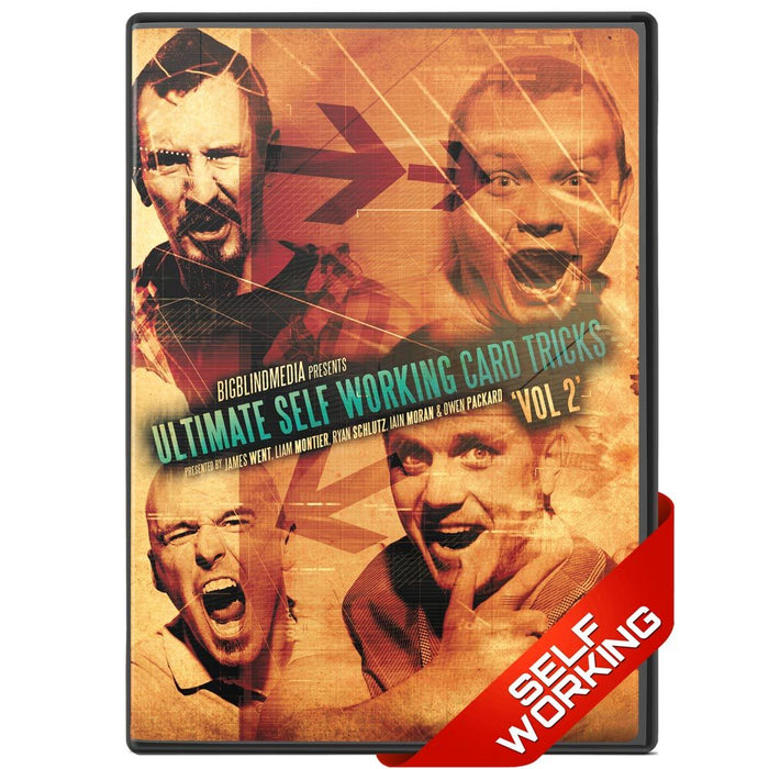 Ultimate Self Working Card Tricks Vol 2 - bigblindmedia.com DVD Front
