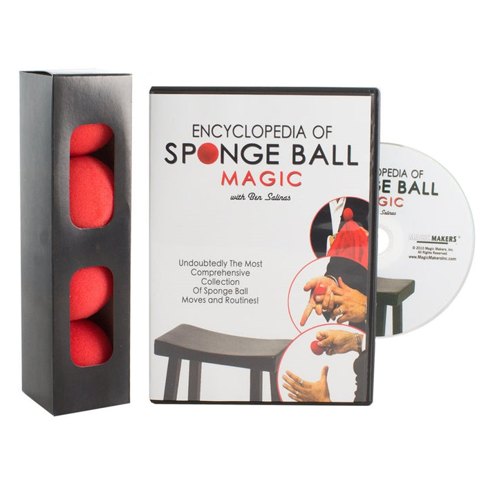 Encyclopaedia of Sponge Balls DVD - with FREE SPONGES!