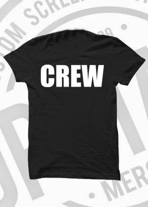 Super Ltd Edition 'MOVE ZERO - CREW' Tshirt