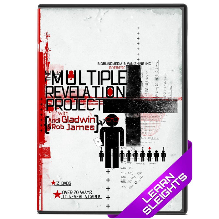 The Multiple Revelation Project (2xDVD + Book)