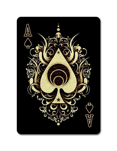 Karnival earthtone9 Playing Cards  - bigblindmedia.com Ace Of Spades