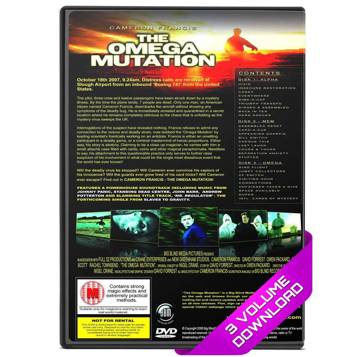 The Omega Mutation by Cameron Francis DOWNLOAD