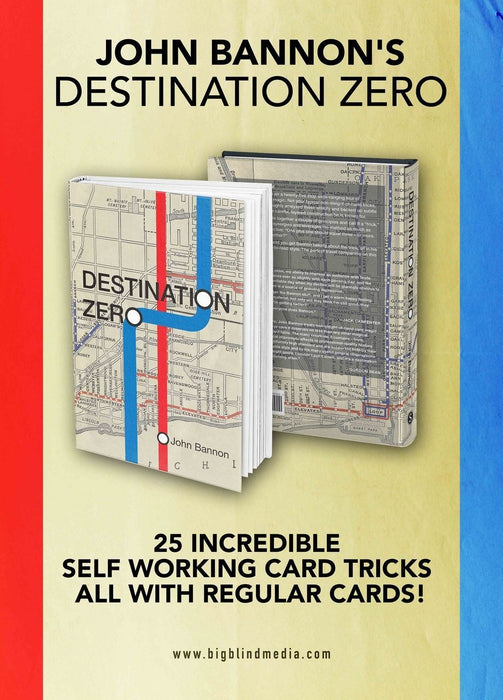 Destination Zero Book (UK/EURO PREORDERS ONLY)