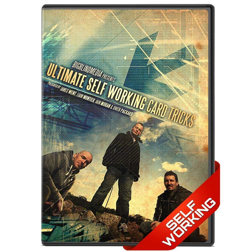 Ultimate Self Working Card Tricks Vol 1 - bigblindmedia.com DVD Front