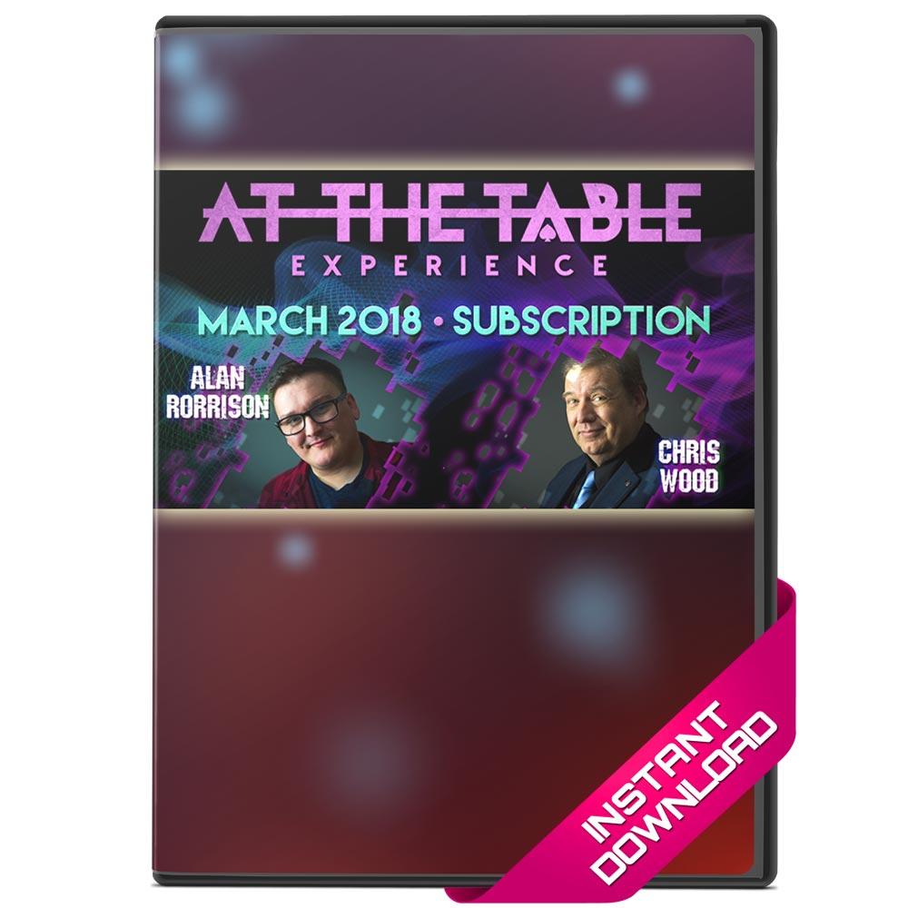 At The Table Live Lectures March 2018 - Alan Morrison and Chris Wood - bigblindmedia.com